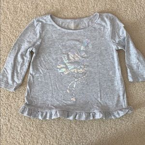 Lilly Pulitzer flamingo top for toddler